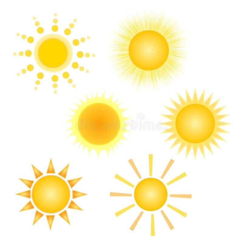 Download El sol ilustración del vector. Ilustración de mañana - 14611089