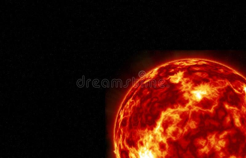 El sol stock de ilustración