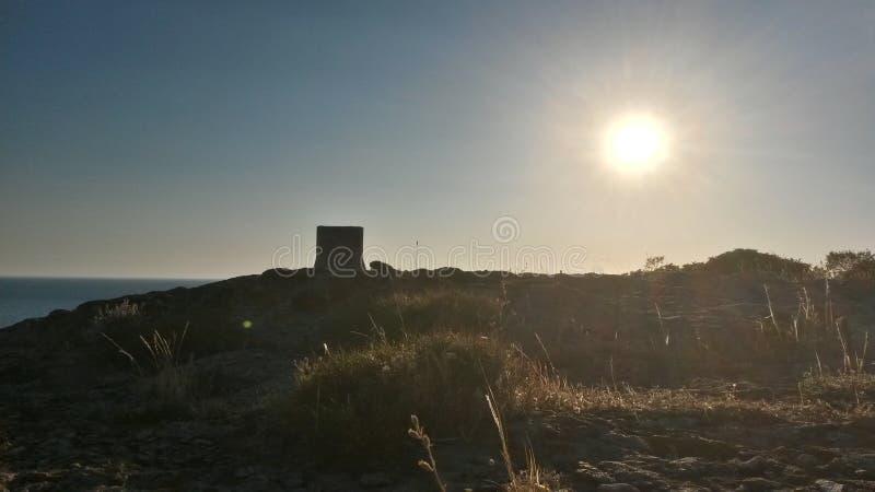 El sol foto de archivo