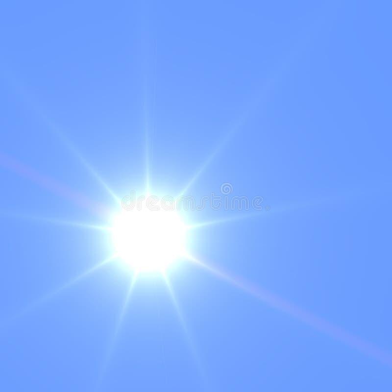 El sol en zenit fotografía de archivo libre de regalías