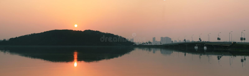 El sol hermoso imagen de archivo