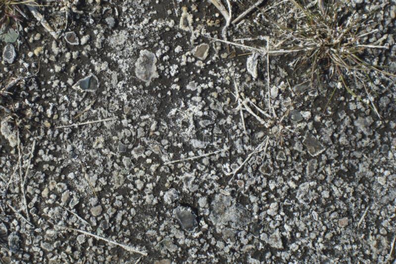 El solenoide emergió de la tierra fotografía de archivo