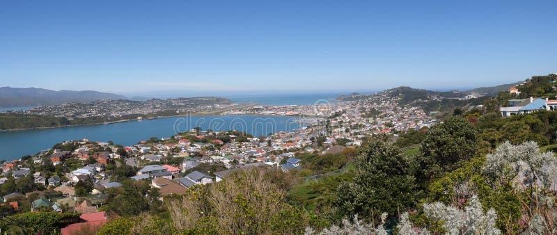 El soporte Victoria Lookout, Wellington fotos de archivo