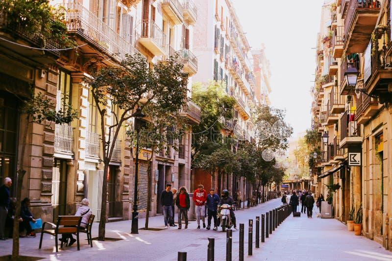 EL sopportato, Barcellona fotografia stock