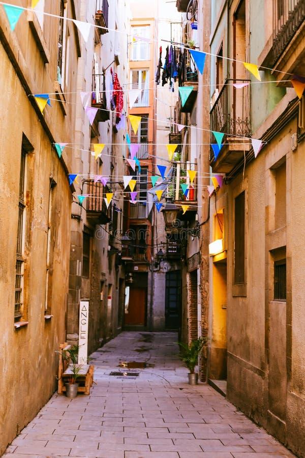 EL sopportato, Barcellona immagine stock