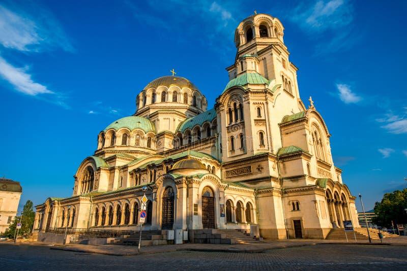 El St Alexander Nevsky Cathedral fotografía de archivo libre de regalías