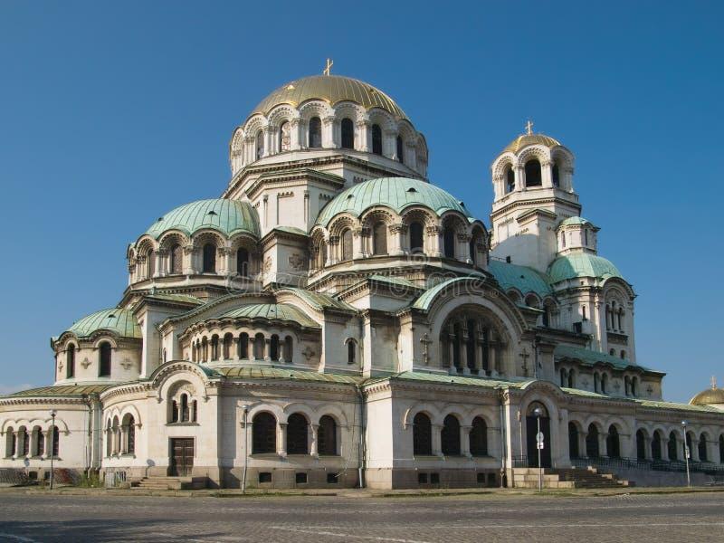 El St. Alexander Nevsky Cathedral en Sofía fotografía de archivo libre de regalías