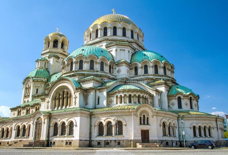 El St. Alexander Nevsky Cathedral en Sofía imágenes de archivo libres de regalías