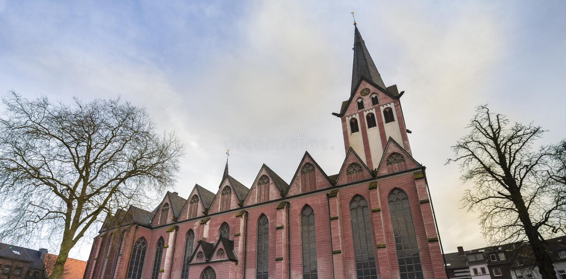 el st marien la iglesia kempen Alemania imagenes de archivo