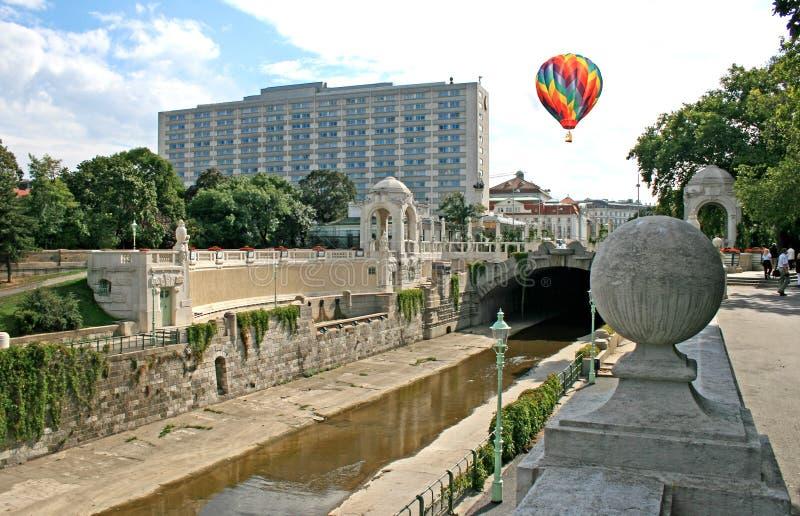El stadtpark famoso en Viena imagen de archivo