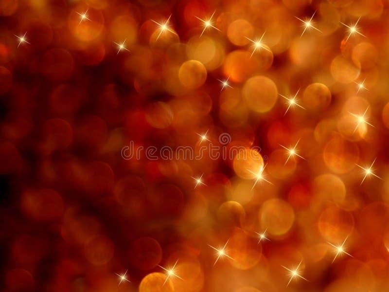 El starburst de Bokeh abstrae ardientemente imagen de archivo libre de regalías