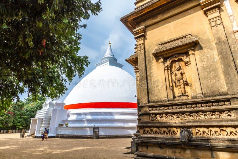 El Stupa en Kelaniya foto de archivo