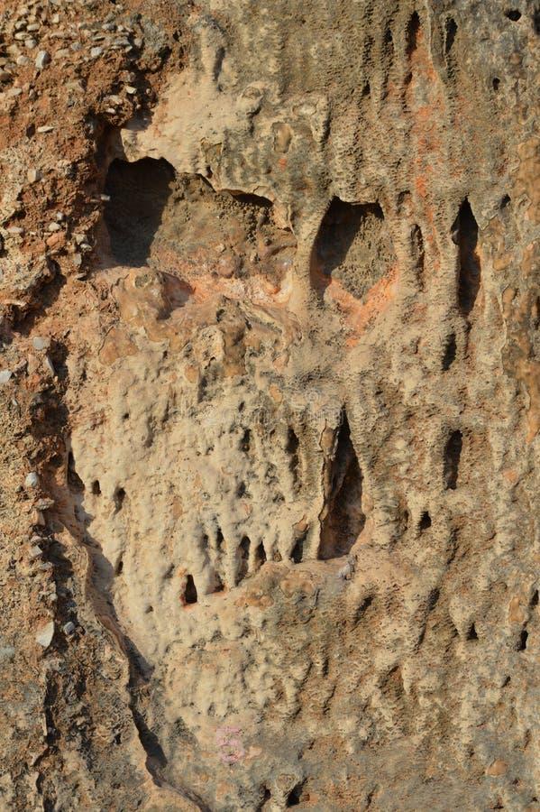 El subir de la textura de la piedra de las rocas de la roca imágenes de archivo libres de regalías