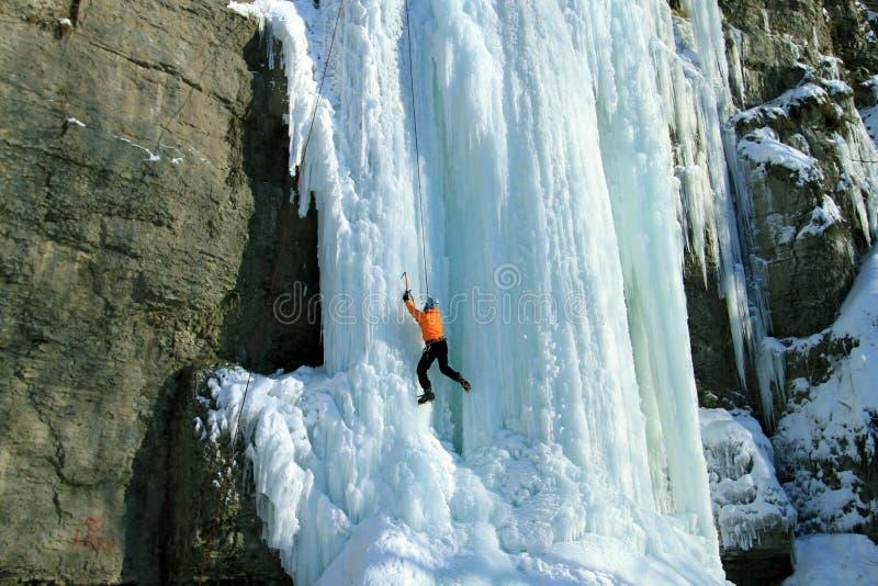 El subir del hielo imagenes de archivo