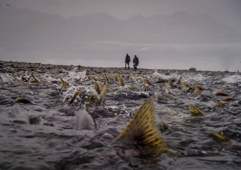 El sueño del pescador fotos de archivo libres de regalías