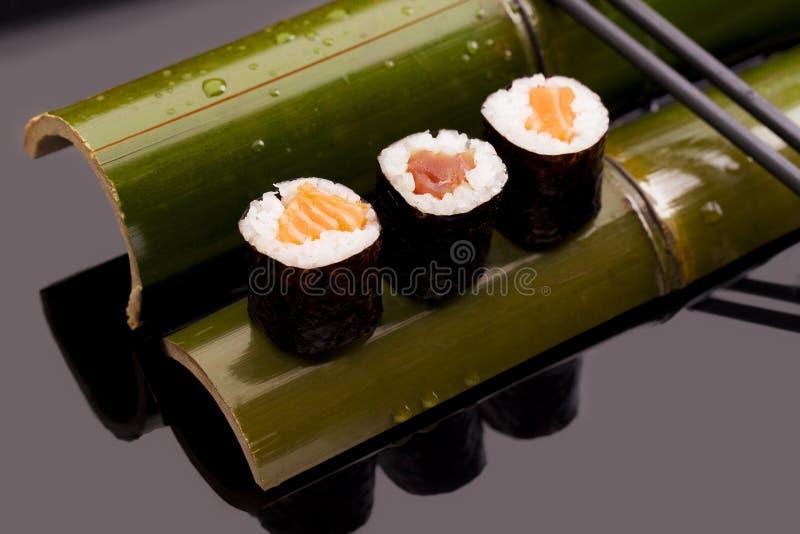 Sushi del camarón fotografía de archivo libre de regalías