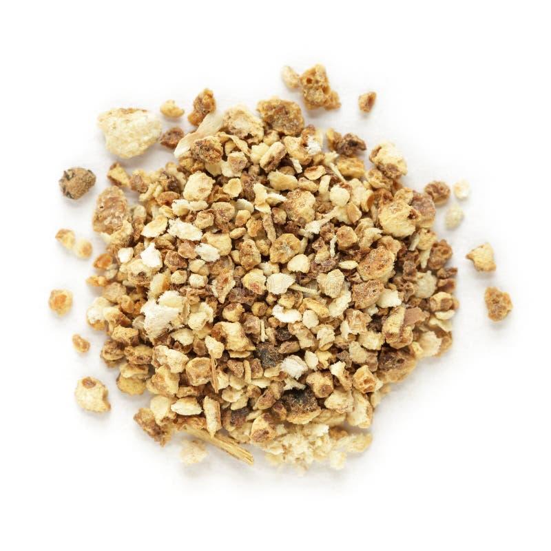 El té seco orgánico de la naranja dulce (sinensis de la fruta cítrica) cortó las semillas fotos de archivo