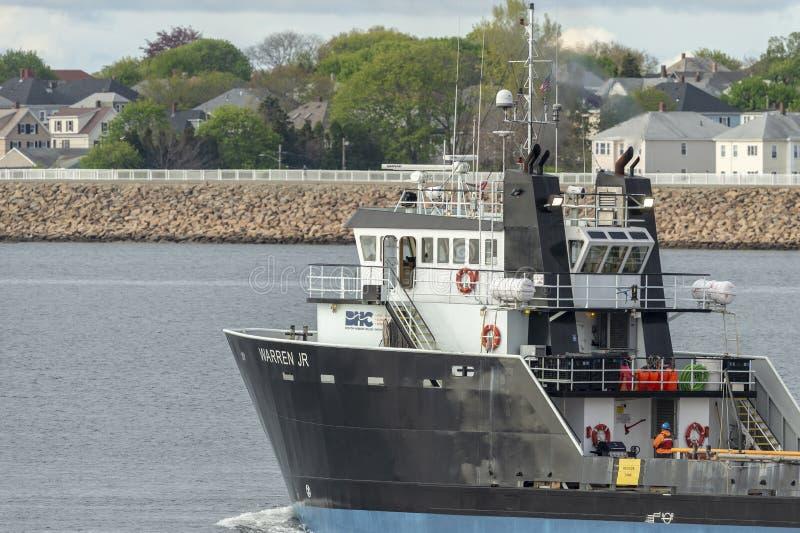 El título costero de Warren Jr del buque de la fuente hacia halcones aúlla imágenes de archivo libres de regalías