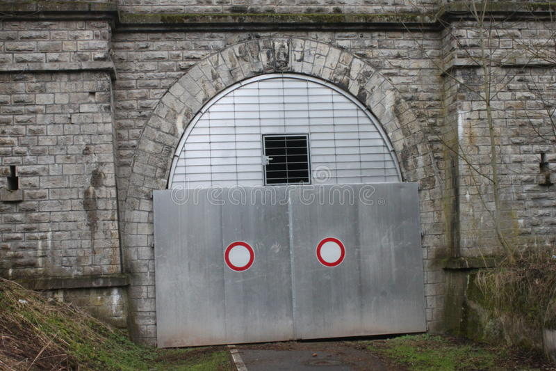 El túnel de Milseburg imagen de archivo libre de regalías