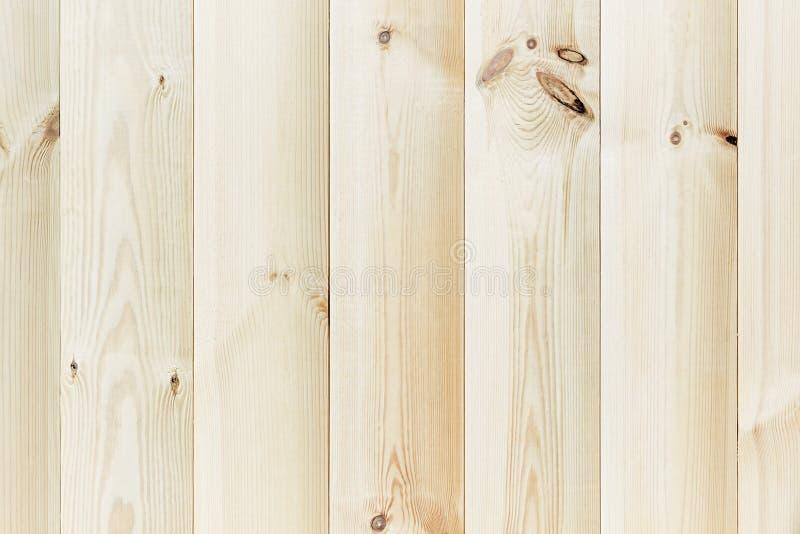 El tablón beige ligero La textura de madera Los antecedentes foto de archivo libre de regalías