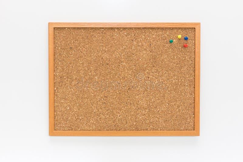 El tablero del corcho foto de archivo