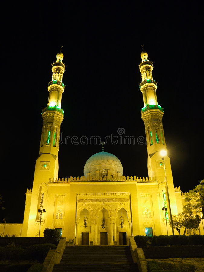 At El Tabya mosque royalty free stock photography