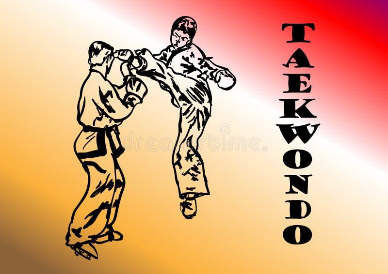 El Taekwondo libre illustration