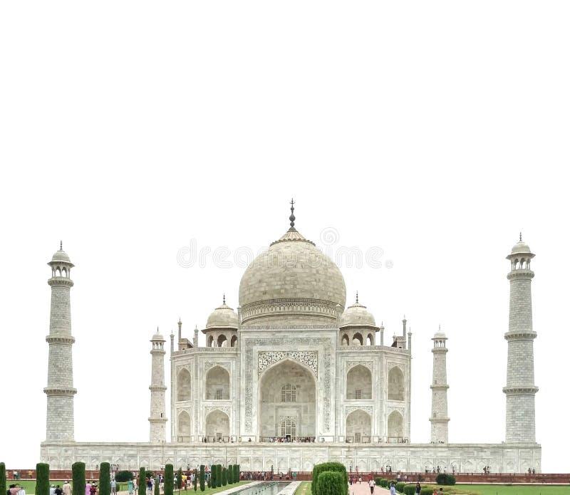 El Taj Mahal- la India foto de archivo libre de regalías