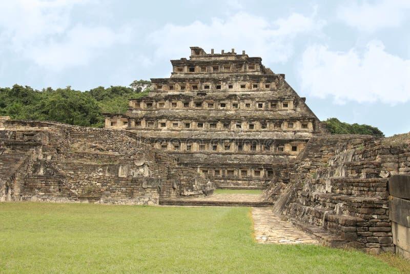 El Tajin Archaeological Ruins, Veracruz, Mexico royalty free stock photography
