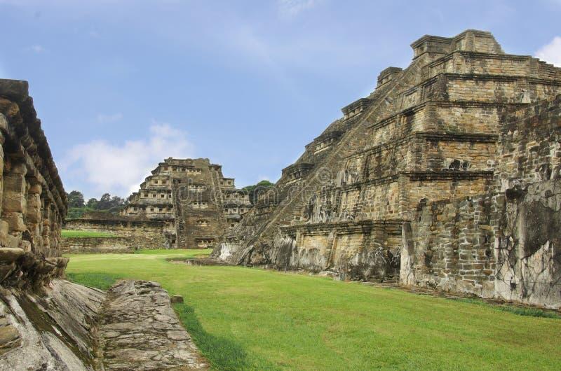 EL Tajin Mexiko Veracruz stockfotos
