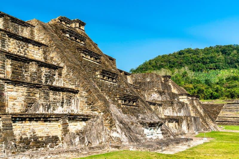 EL Tajin, un sitio arqueol?gico precolombino en M?xico meridional fotografía de archivo libre de regalías