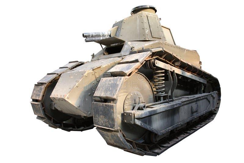 El tanque aislado de la vendimia foto de archivo libre de regalías