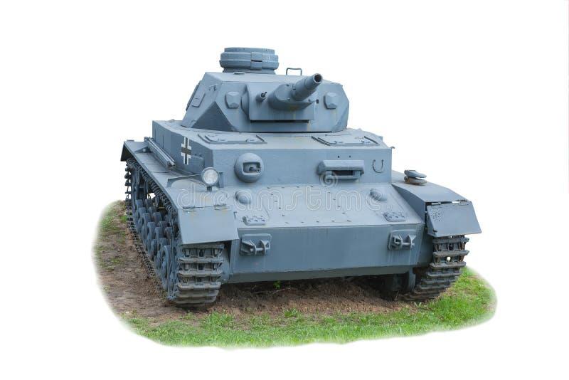 El tanque alemán la 2da guerra mundial fotos de archivo libres de regalías