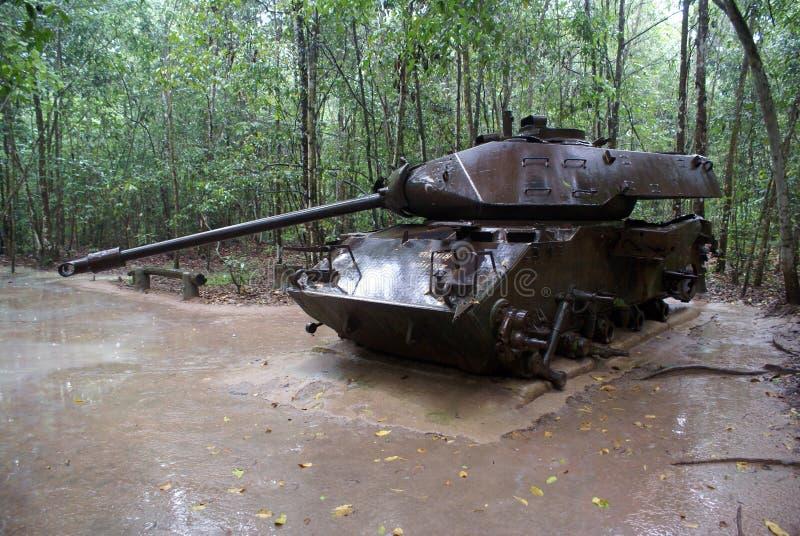 El tanque americano imagen de archivo libre de regalías