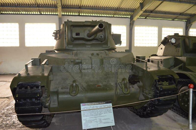 El tanque británico MK II Matilda III de la infantería imágenes de archivo libres de regalías