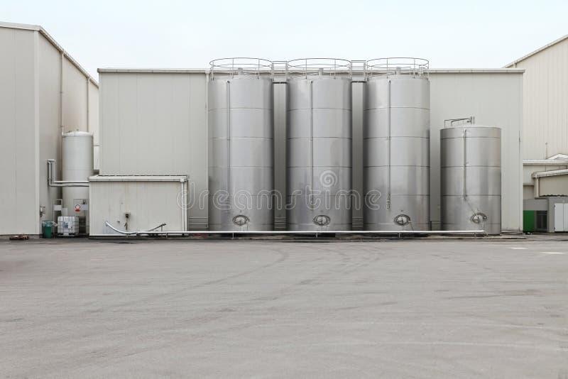 El tanque de acero fotografía de archivo