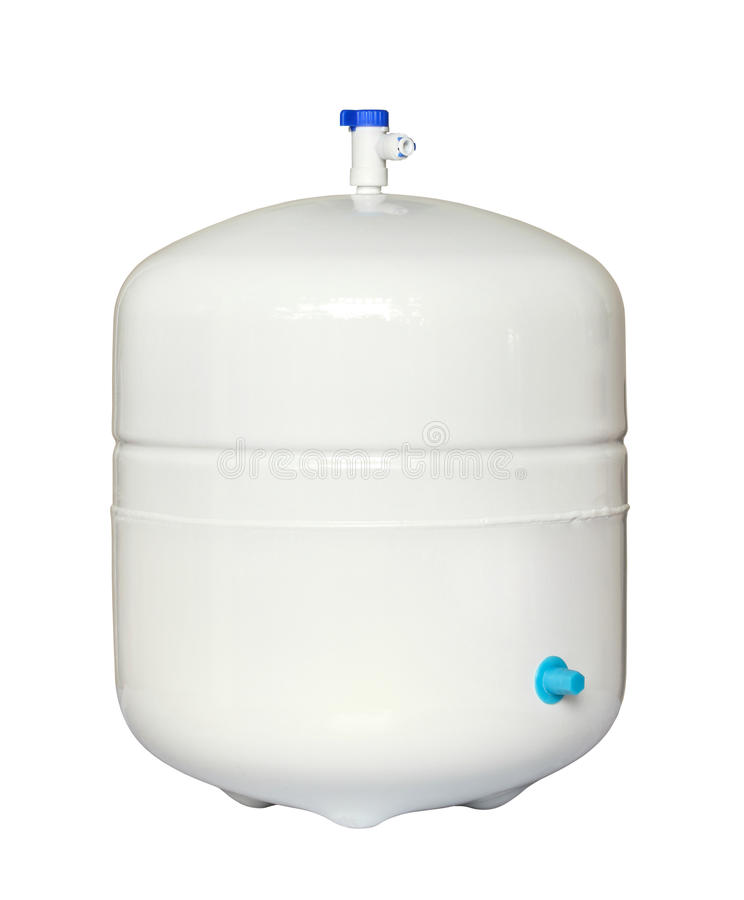 El tanque de almacenaje del agua fotografía de archivo libre de regalías