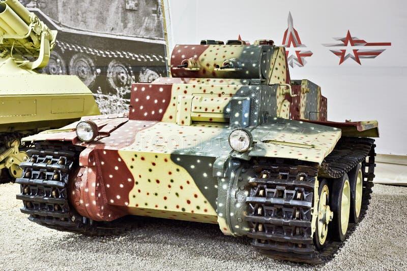 El tanque de asalto alemán de la infantería Panzer I PzKpfw I Ausf F foto de archivo libre de regalías