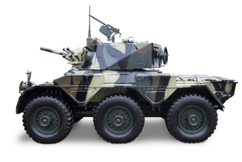 El tanque de ejército aislado fotografía de archivo libre de regalías