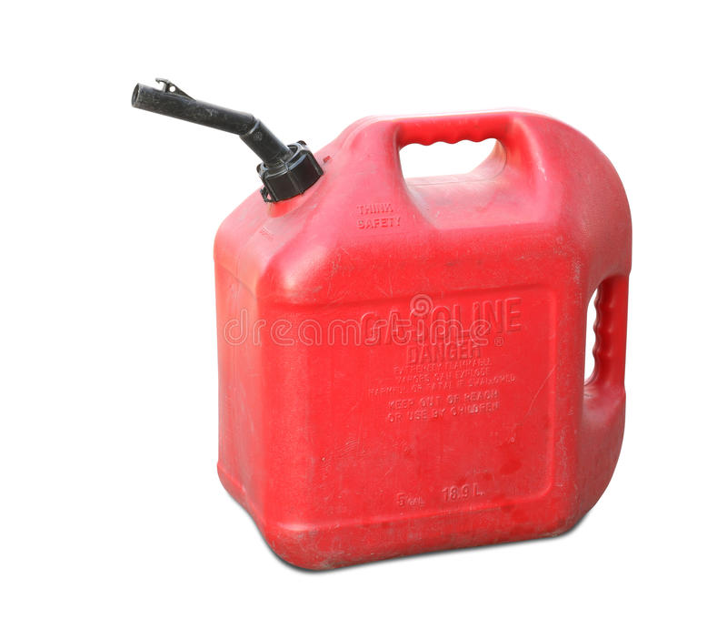 El tanque de gasolina foto de archivo