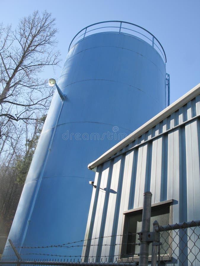 El tanque de la reserva de agua imagenes de archivo