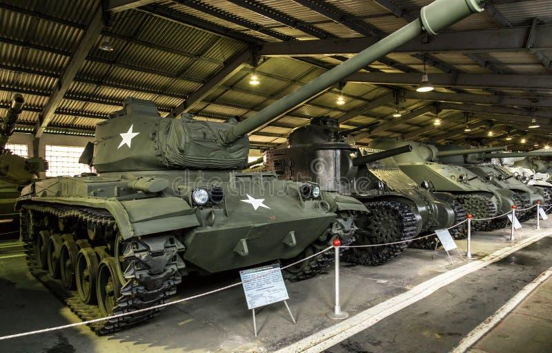 El tanque de la Segunda Guerra Mundial de Estados Unidos fotos de archivo