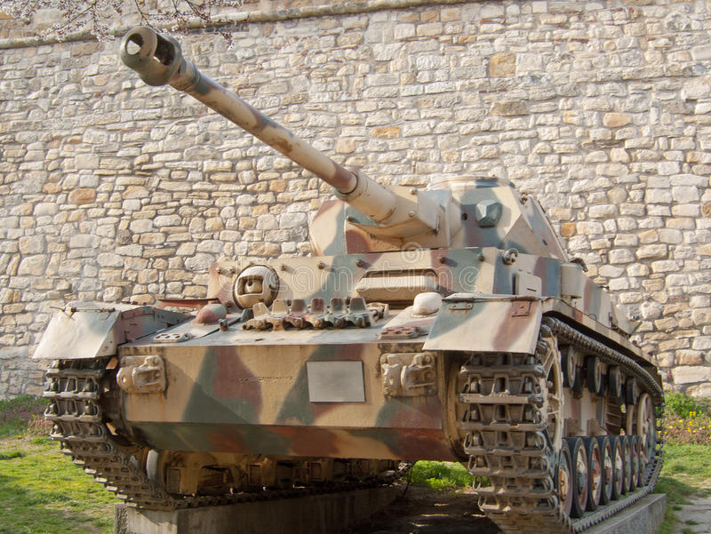 El tanque de Panzer IV imágenes de archivo libres de regalías