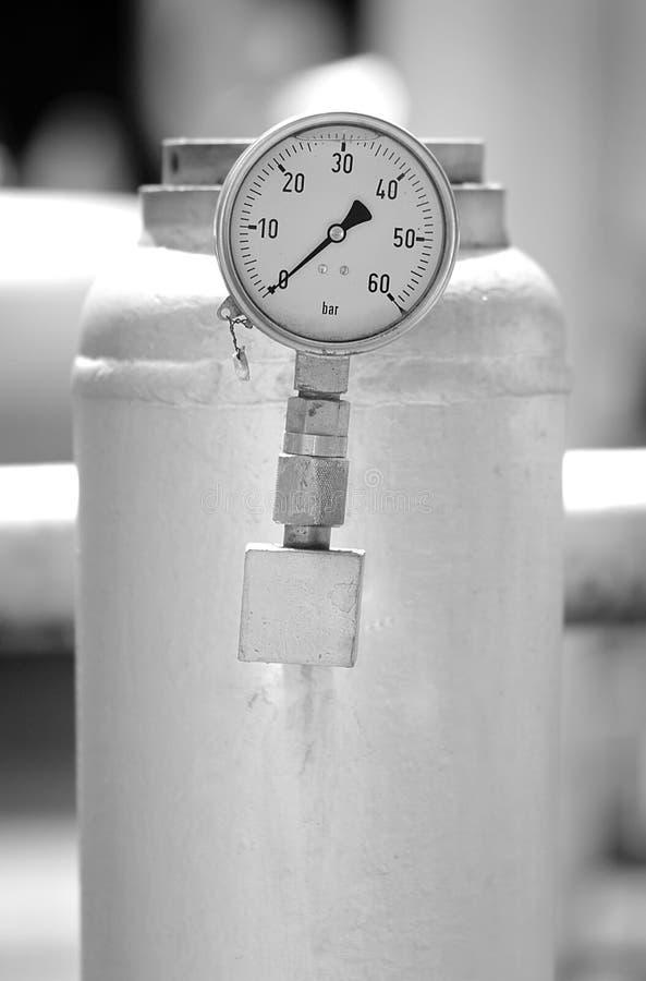 El tanque de presión