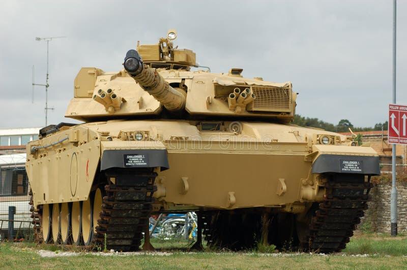 El tanque del desafiador 1, Reino Unido fotografía de archivo libre de regalías