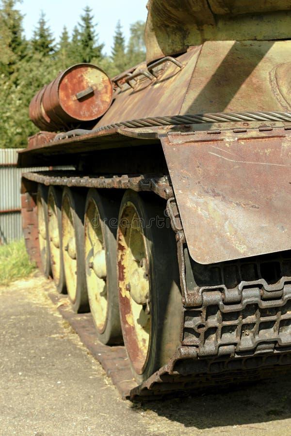 El tanque histórico T34 foto de archivo