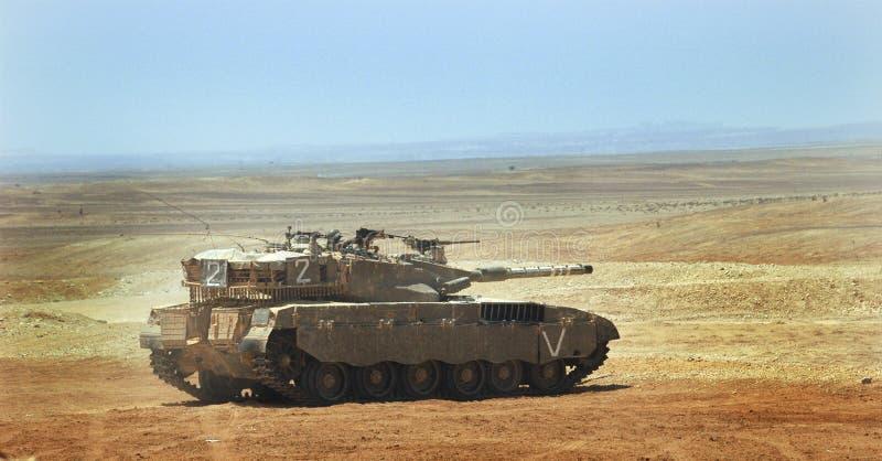 El tanque israelí del merkava fotografía de archivo libre de regalías