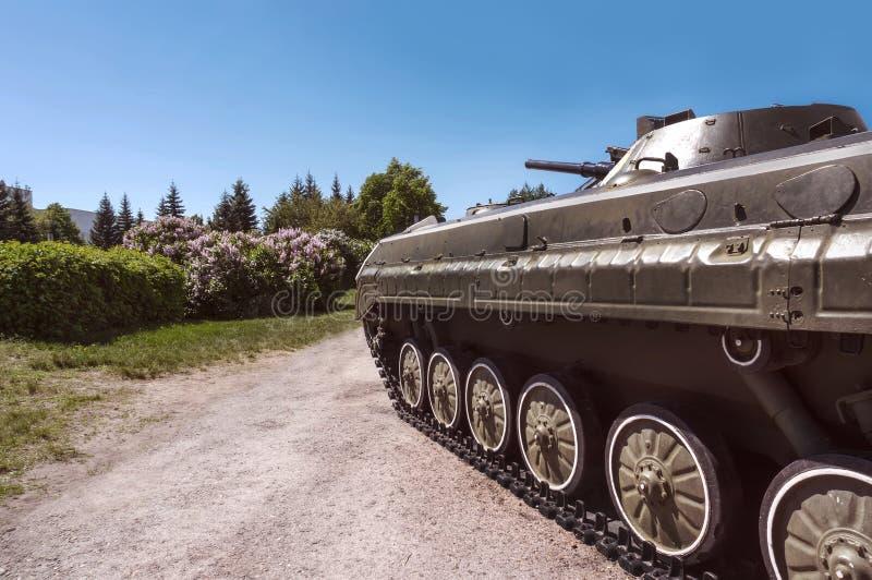 El tanque ligero de la infantería imagen de archivo libre de regalías