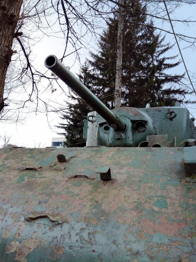 El tanque ligero a partir II de la guerra mundial fotografía de archivo libre de regalías