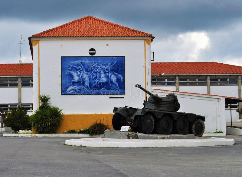 El tanque militar portugués foto de archivo libre de regalías